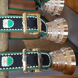 Courroies de cloches réalisées pour les 120 ans de la FVSE