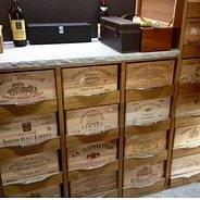 Cellier sur-mesure, Cave à vin en chêne massif