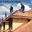 Réfection de la toiture du Château de Rougemont - 2008