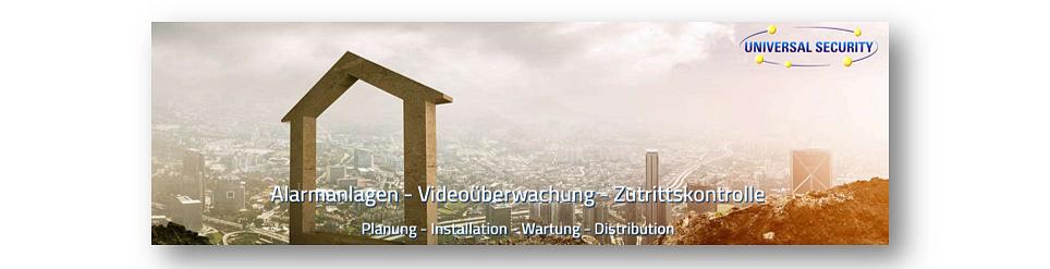 ALARMANLAGEN + VIDEOÜBERWACHUNG UNIVERSAL SECURITY GmbH
