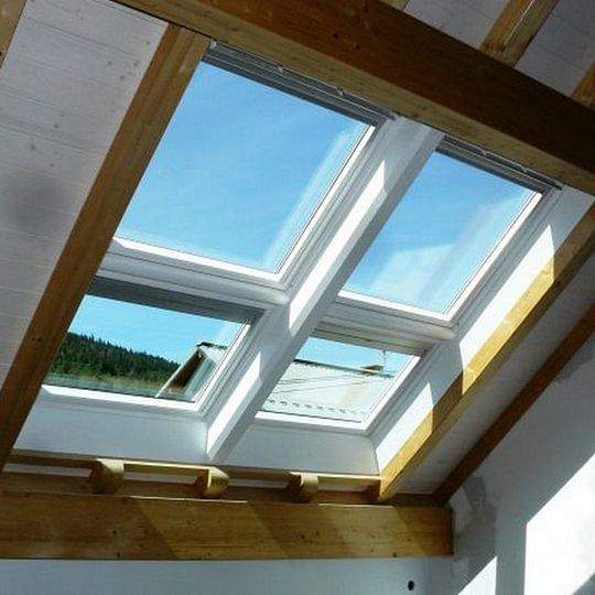 Installation, remplacement ou agrandissement de fenêtres de toit