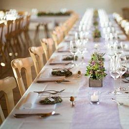 Hochzeit Ziviltrauung Essen Saal Fest