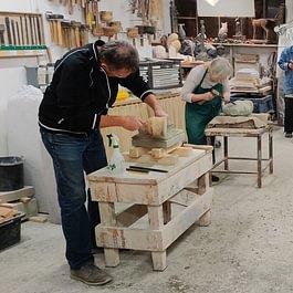 Bildhauer Kurse im Atelier Bottinelli Sculpt Nidau