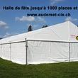 halles de fête de 30 à 1'500 places en location