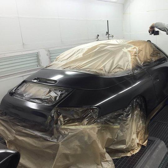 Umlackierung Porsche 911