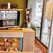 Möbelausstellung mit TV Möbel aus eigener Schreinerei