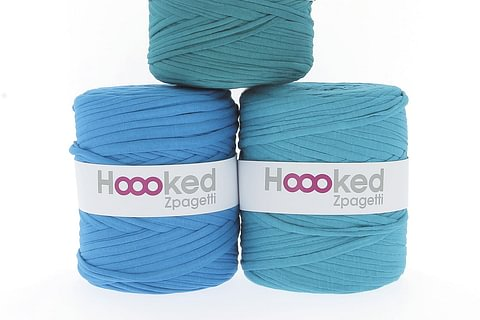 Hoooked Zpagetti Textilgarn zum Häkeln und Stricken im Grossformat