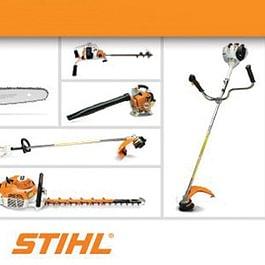 Stihl - Gamme complète d'outils portés électriques ou thermiques