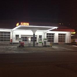 Station essence / Gas naturel