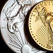 Münzen Gold und Silber