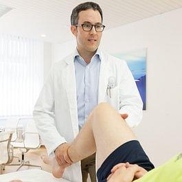 Untersuchung durch Dr. Wüst
