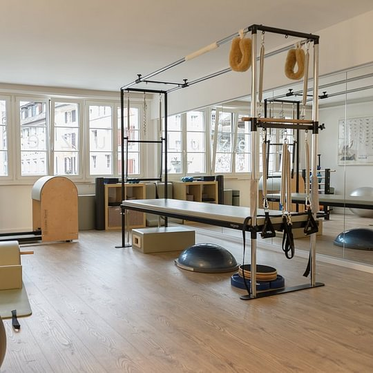 Personal Training in Pilates Studio Luzern