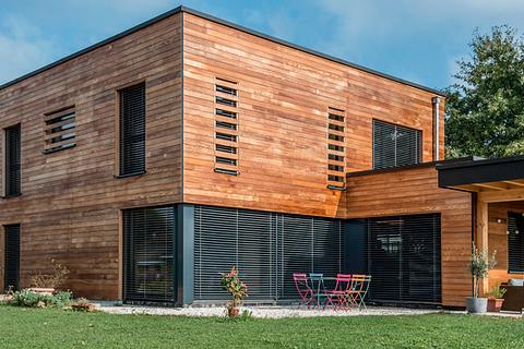 Construction de villas en ossature bois