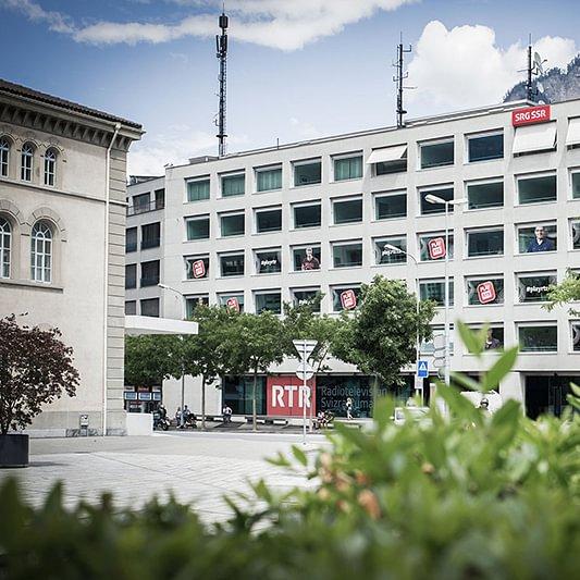 Chasa da medias RTR, Rätoromanisches Medienhaus in Chur