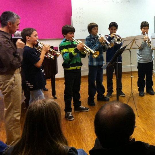 audition des trompettistes