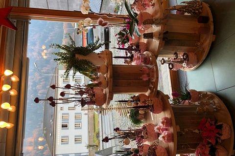 esposizione natalizia rosa 2018