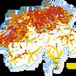 Wasserhärte - Kalkkarte der Schweiz