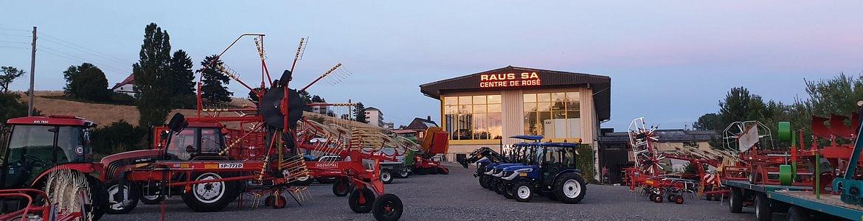 Raus SA - Tracteurs LOVOL et NIKI TRAC