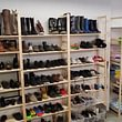 Schuhe und Heimtextilien