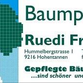 Ruedi Frieden Gartenbau - Baumpflege