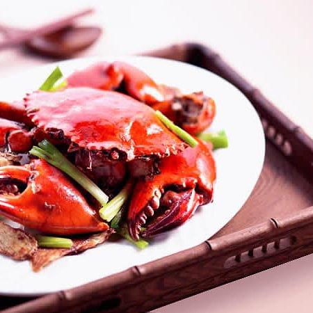 Crabe à la mode du chef