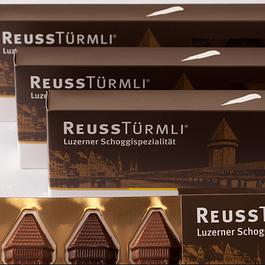 Spezialitäten Reuss Türmli Schoggi