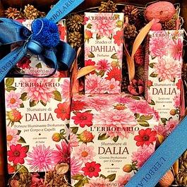 Sfumature di Dalia: Dal fiore nazionale del Messico, che rappresenta il rispetto, la compassione, la dignità e l'eleganza, nasce una gradevolissima acqua profumata.
