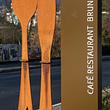 Messer und Gabel vor unserem Eingang