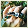 Melania Crocco : Tourmaline rings in rose gold 18 kt