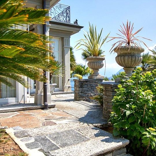 Herrschaftliche Villa am in Brissago
