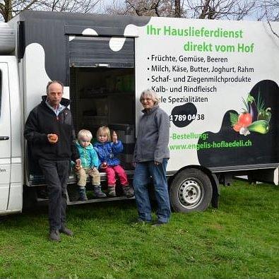 Engelis Hoflädeli, Engishofen - Verkaufswagen