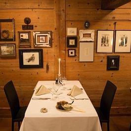 Romantisches Ambiente in unserem Restaurant