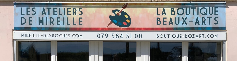 Ateliers de Mireille et Boutique Bozart