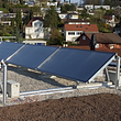 Solaranlage - Heizwert AG, Muttenz und Basel