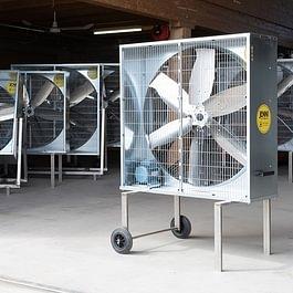 Mobiler Ventilator 114 Serie Premium, Fix