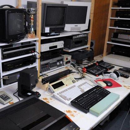 Blick in das AV-Studio