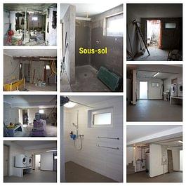 Rénovation d'un sous-sol