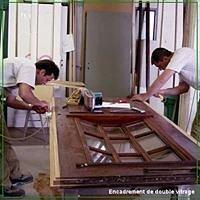 Réparation et rénovation de portes palières d'appartements.