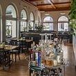 Restaurant Falkenburg, St. Gallen - Rustikaler Teil des Restaurants
