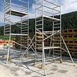 Echafaudages mobiles, ponts-roulants aluminium