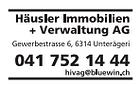 Häusler Immobilien und Verwaltungs AG