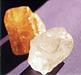 Steinschmuck und Mineralien