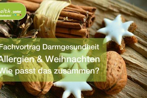 Vortrag Allergien & Weihnachten: wie passt das zusammen? am 18.11.2020