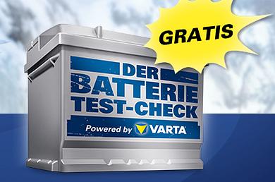 Test-check gratuito della vostra batteria