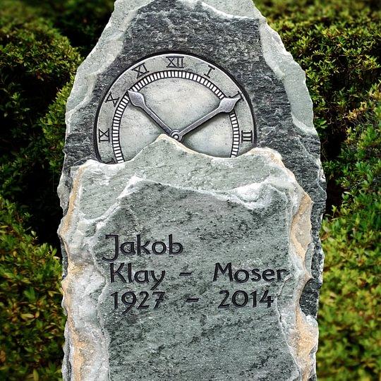 Urnengrabmal aus Griechisch Grün Spaltfels