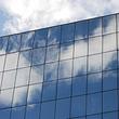 lavage des façades, vitres depuis nacelle