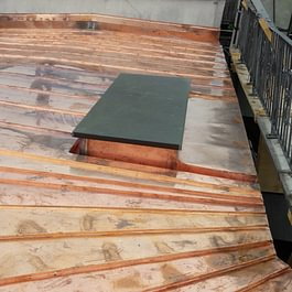 Blecheindeckungen Dachterrasse