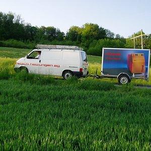 Servicewagen für Sie im Einsatz
