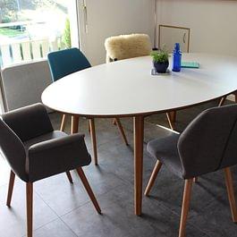 Fabrication d'une table de salle à manger