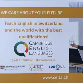 Cambridge English Languages GmbH, St. Gallen - Angebot